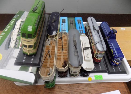 Selection of trams