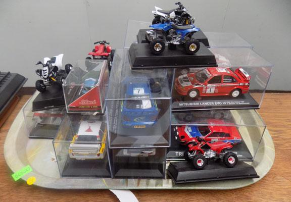 Collection of diecast cars etc.