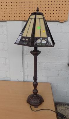 Tiffany style lamp in working order