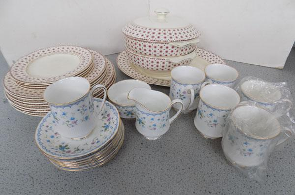 Wedgewood and Paragon part T sets