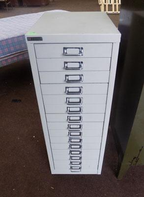 Grey 15 Draw filing cabinet