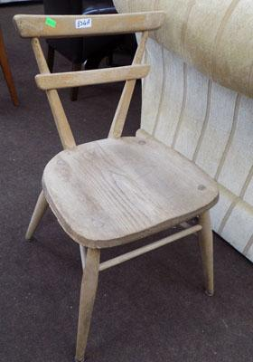 Ercol red dot child's chair