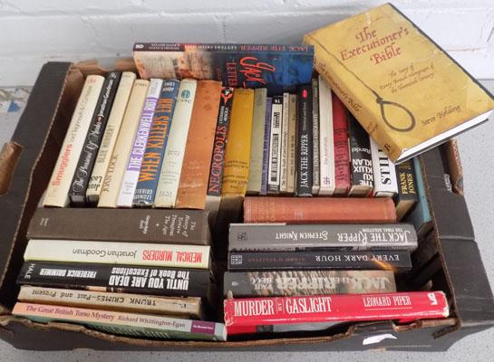 Box of murder mystery books