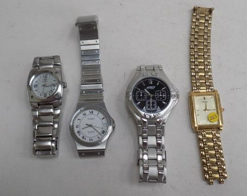 4 assorted watches including Breil/Seiko/Tissot/Rio