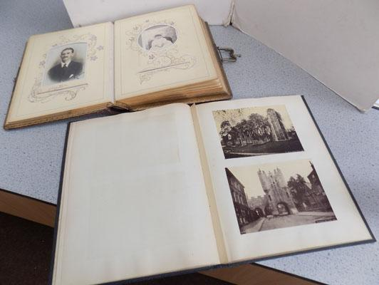 Victorian photo album + others