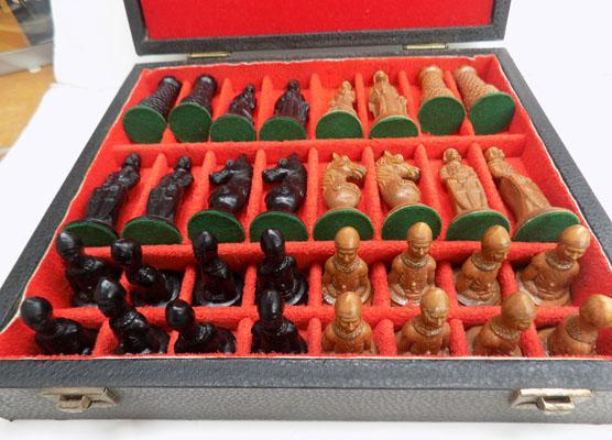 Boxed chess set