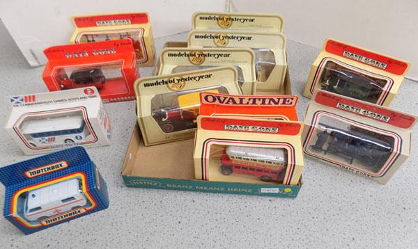 Assortment of collectable cars