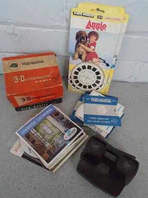 View Master 3D viewer and reels