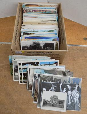 Assortment of vintage postcards