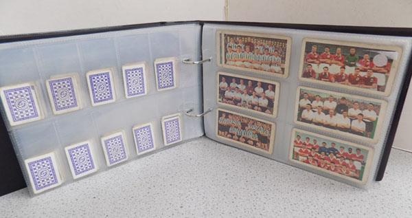 Cigarette cards + others album