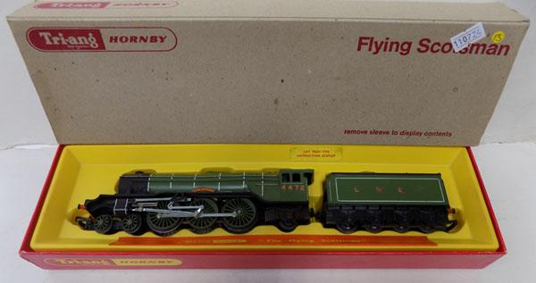 "Hornby ""OO"" gauge Flying Scotsman engine + tender"