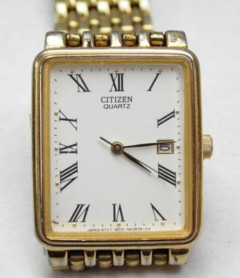 Gents rolled gold citizen watch