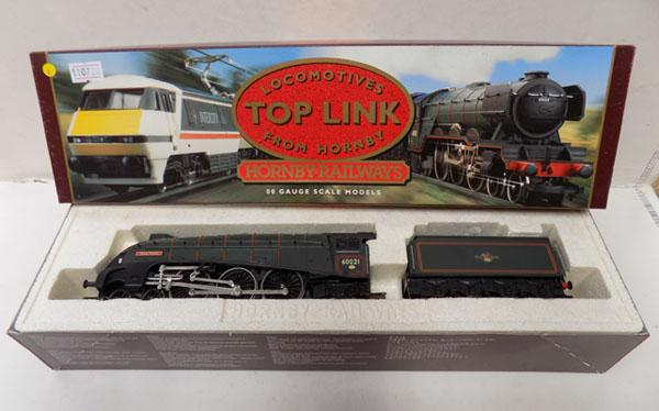 "Hornby ""OO"" gauge Wild Swan steam engine + tender"