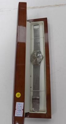 Longines gents boxed watch