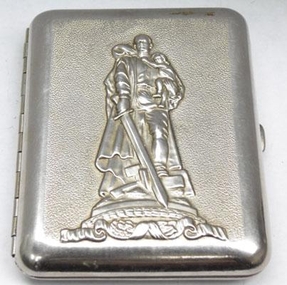 WW2 cigarette case dated 1945