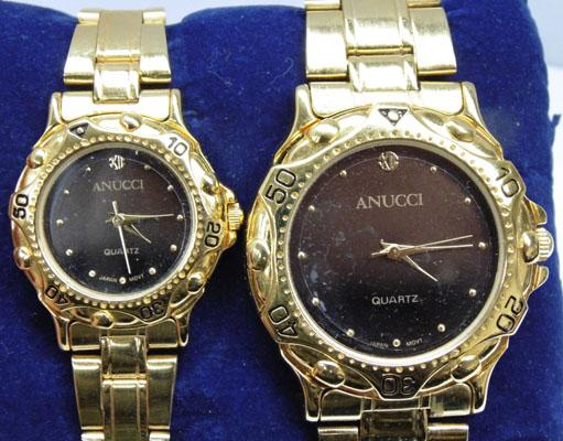 Gents and Ladies working Anucci watches