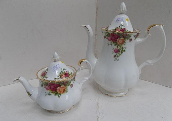 Royal Albert Old Country Rose tea pot/coffee pot