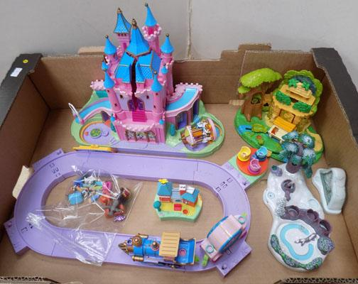 Vintage Disney Polly Pocket sets