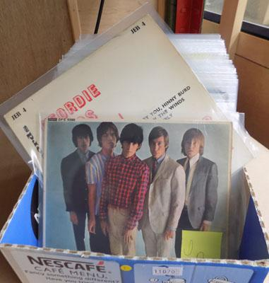 Box of collectable EPs