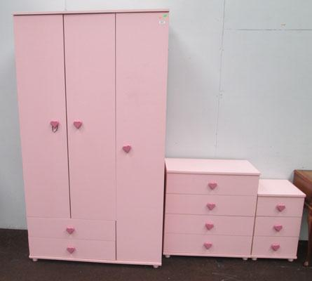Girl's 3 piece wardrobe set