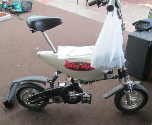 Baby Moto electric bike, needs new batteries