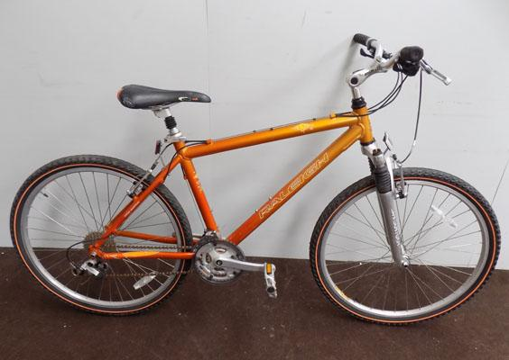 "Raleigh Bob gold 26"" hardtail 24 gears bike"