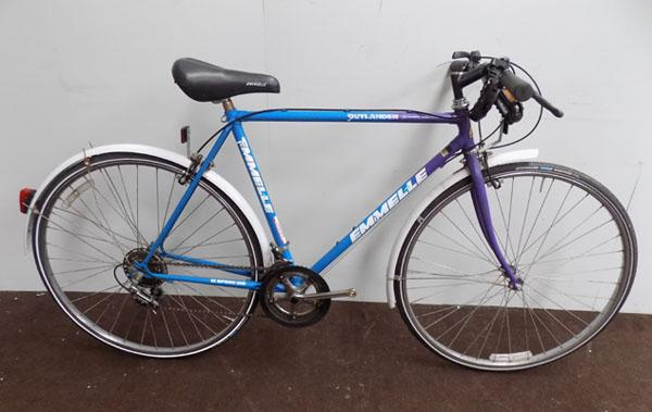Emmelle Outlander blue/purple 700C rigid 12 gears