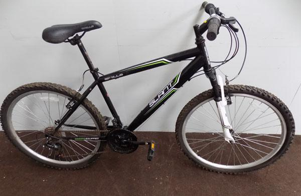 "Apollo Slant black 26"" hardtail 18 gears bike"