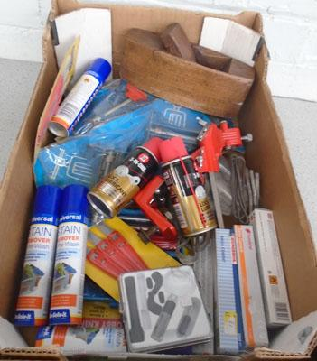 Box of household items