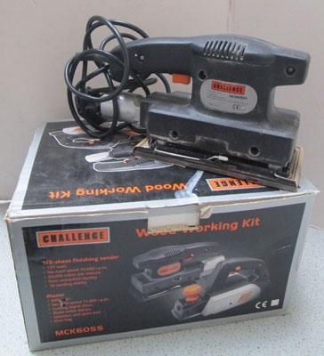 Woodworking kit sander & planer