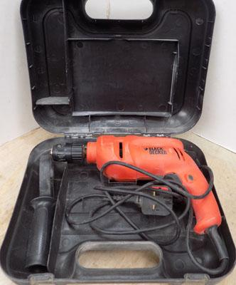 Black and Decker drill in working order