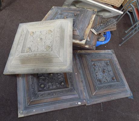 Set of vintage moulds