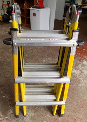 Little Giant fibreglass stepladder