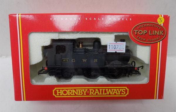"Hornby ""OO"" gauge 1472 GWR engine"