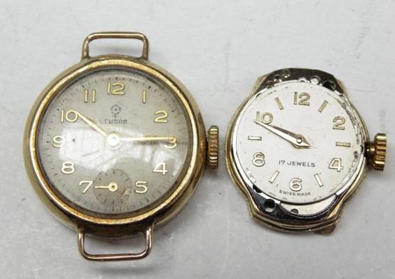 2 gold watches - 1 Tudor