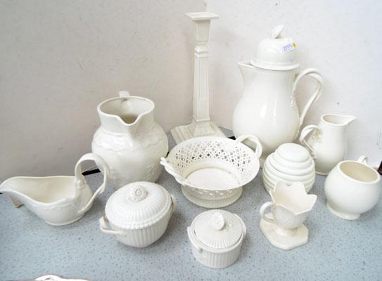 Collection of Leeds Property cream ware