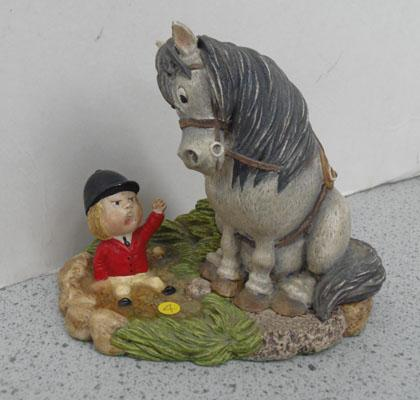 Beswick The Thelwell series Early Bath figure