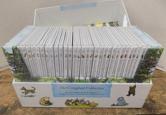 Winnie the Pooh complete collection RRP £149.99