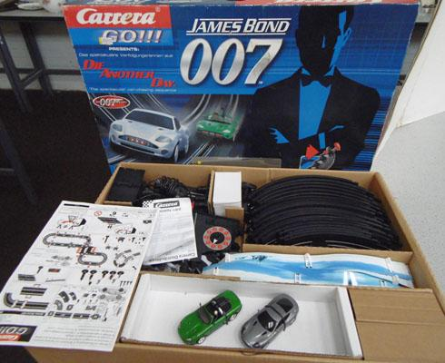 Carrera Go Die Another Day slot racing set