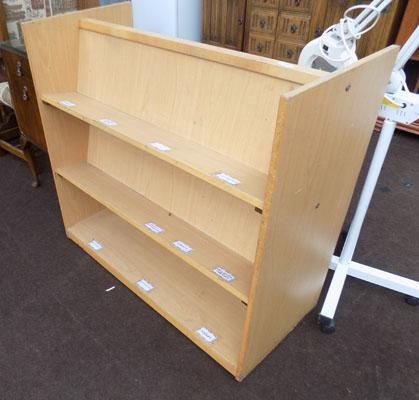 Double sided school bookcase
