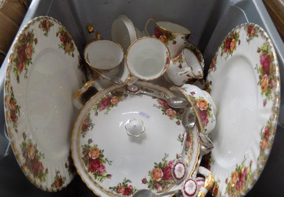 Selection of Royal Albert Old Country Rose