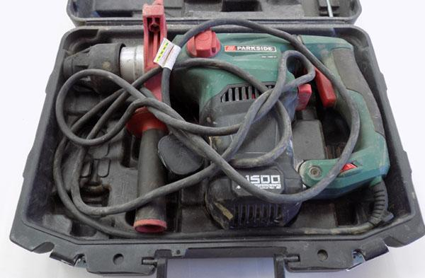 Rotary hammer drill SDS Parkside
