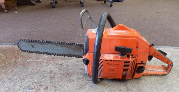 Husqvarna chainsaw in good working order
