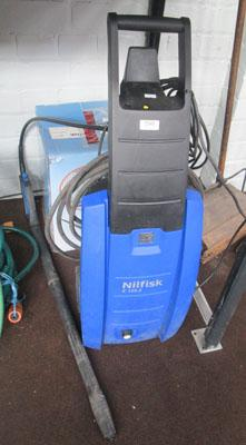 Nilfisk pressure washer with all fittings (unchecked)