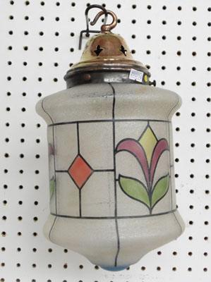 Quality mid-century vintage outdoor lamp/lantern