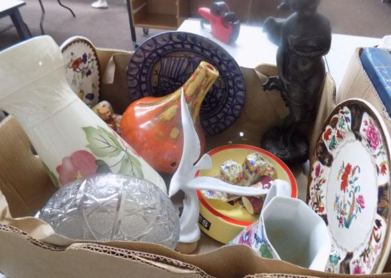 Box of good quality bric-a-brac collectables