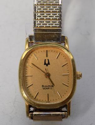 Ladies rolled gold Bulova watch