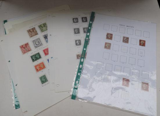 Large quantity of Queen Victoria stamps