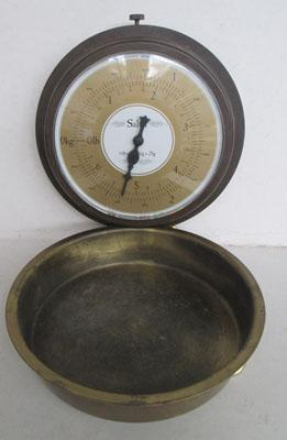 Wall mounted Salter scales