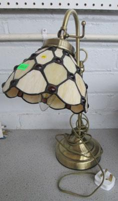 Adjustable Tiffany style table lamp